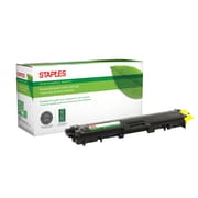 Staples® Sustainable Earth® Reman Toner Brother TN225 Yellow, High Yield (SEBTN225YR)