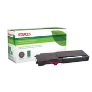 Staples® Sustainable Earth® Reman Toner Dell C3760 Magenta, High Yield (SEBD3760MRDS)