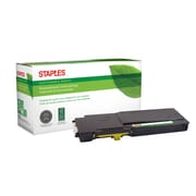 Staples® Sustainable Earth® Reman Toner Dell C2660 Yellow, High Yield (SEBD2660YRDS)
