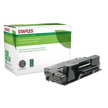 Staples® Sustainable Earth® Reman Toner Dell B2375 Black, High Yield (SEBD2375RDS)