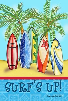 Toland Home Garden Surf's Up 2-Sided Garden Flag
