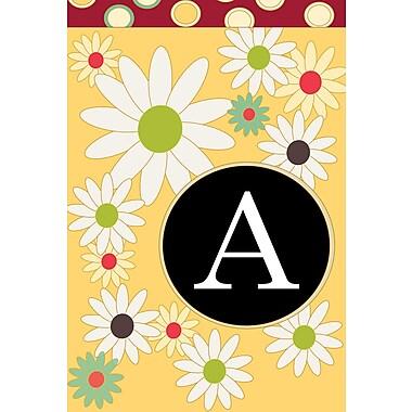 Toland Home Garden Floral Garden Flag; A