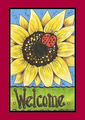 Toland Home Garden Sunflower Lady Garden Flag