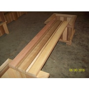 WoodCountry Garden Bench for Planter; Unstained