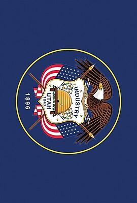 Toland Home Garden US States 2-Sided Garden flag; Utah