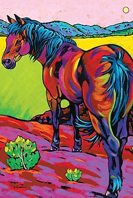 Toland Home Garden Pop Art Horse 2-Sided Garden Flag