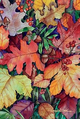 Toland Home Garden Fallen Leaves Garden Flag