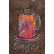 Toland Home Garden Oil Pastel Coffee Mug 2-Sided Garden Flag