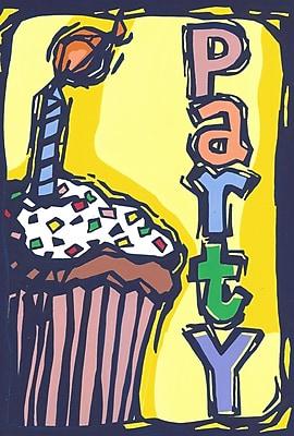 Toland Home Garden Cup Cake Party Garden Flag