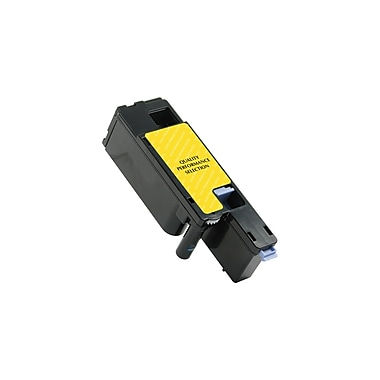 Staples® Sustainable Earth® – Toner Dell C1660 jaune remis à neuf (SEBD1660YRDS)