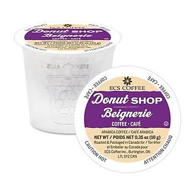ECS Coffee - Café Donut Shop, en vrac, 70/paquet