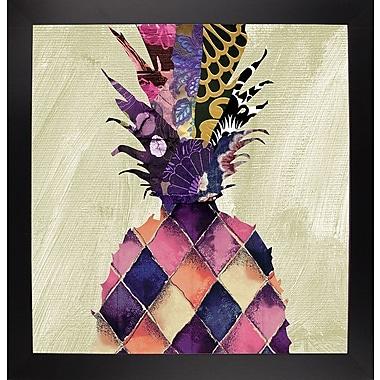 Bloomsbury Market 'Pineapple Brocade II' Rectangle Graphic Art Print