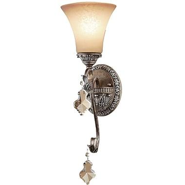 Astoria Grand Blackwater 1-Light Bracket Wall Sconce