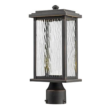 Red Barrel Studio Bradly 1-Light LED Lantern Head; Oil Rubbed Bronze