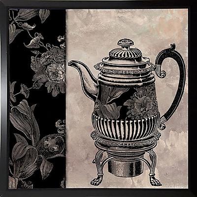 Astoria Grand 'Victorian Table III' Graphic Art Print; Budget Saver Framed Paper