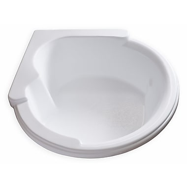 Carver Tubs Hygienic 64'' x 59'' Soaking Bathtub