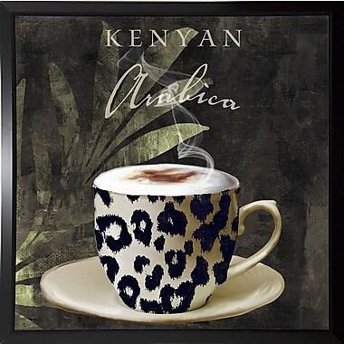 Bloomsbury Market 'Afrikan Coffees I' Graphic Art Print; Budget Saver Framed Paper