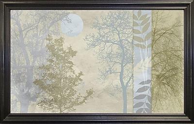 Ebern Designs 'Tree Language I' Graphic Art Print; Black Grande Framed Paper