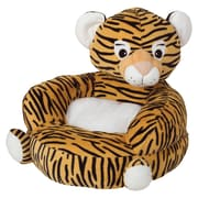 Trend Lab Plush Tiger Character Kids Faux Fur Chair