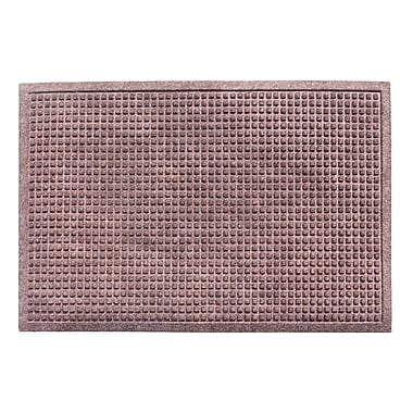 Symple Stuff Eco-Poly Indoor/Outdoor Doormat; Classic Brown