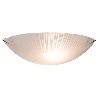 Ebern Designs Bevins Flush Mount; 5.75'' H x 12'' W x 12'' D