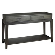 French Heritage Pont Neuf Console Table
