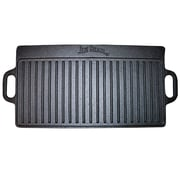 Jim Beam 8'' Double Sided Cast Iron Reversible Griddle