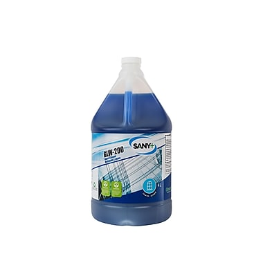 Sany+ Glass Cleaner, 4L, 4/Pack (GLW-200-4S4)