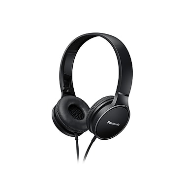 Panasonic Monitor/Overhead Style Headphones With Mic (RPHF300MK)
