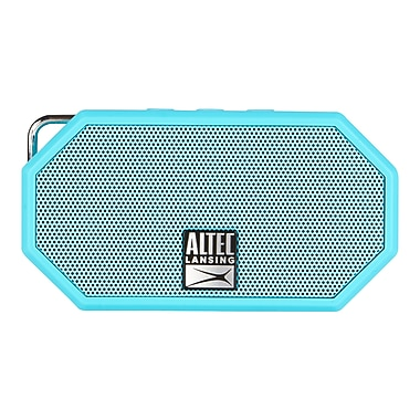 Altec Lansing (IMW257-AB-FR) Mini H20 Bluetooth Speaker, Blue
