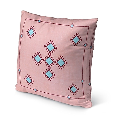Bungalow Rose Rancho Mirage Indoor/Outdoor Throw Pillow; 18'' H x 18'' W