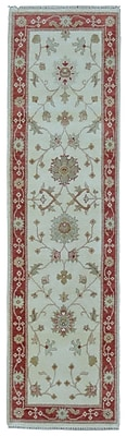 Darby Home Co Baron Hand-Woven Wool Beige Area Rug