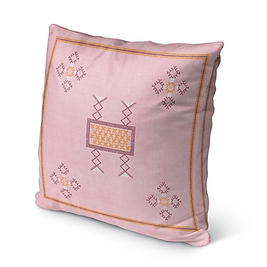 Bungalow Rose Tulelake Indoor/Outdoor Throw Pillow; 16'' H x 16'' W