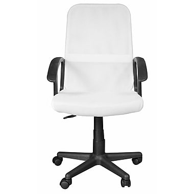 Ebern Designs Bianco Mesh Office Chair; Silver