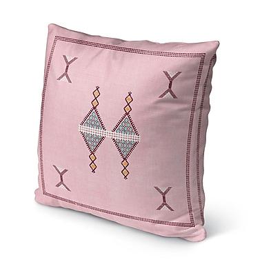 Bungalow Rose Santa Ana Indoor/Outdoor Throw Pillow; 16'' H x 16'' W
