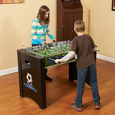 """""Hathaway 48"""""""" Playoff Foosball Table, Black/Green"""""" 1023108"