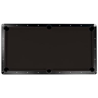 Championship Saturn Ii 8' Billiard Cloth Pool Table Felt, Black