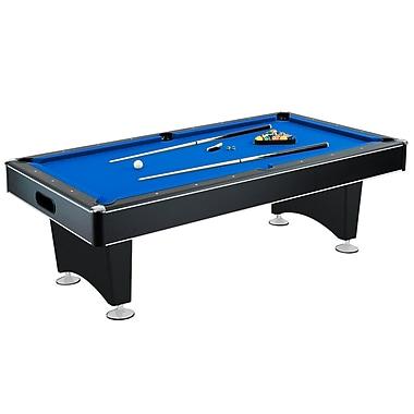 Hathaway™ Hustler 8' Pool Table, Blue