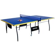 "Hathaway™ 30"" x 60"" x 107 1/2"" Bounce Back Table Tennis Table, Blue"