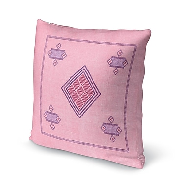Foundry Select Aldford Throw Pillow; 16'' H x 16'' W