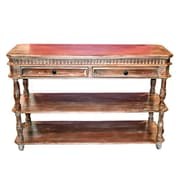 Bloomsbury Market Oldland Common Wooden Console Table