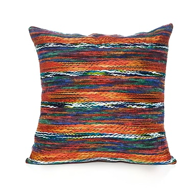 Loon Peak Atkin Throw Pillow; Orange