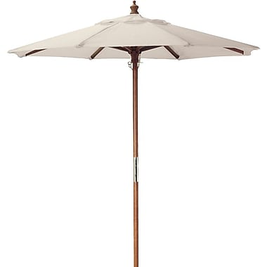 Latitude Run Starcher 6' Market Umbrella; Natural