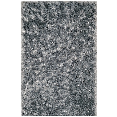 Union Rustic Kailyn Teal Solid Rug; 3' x 5'