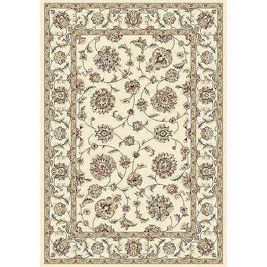 Astoria Grand Attell Ivory/Ivory Area Rug; 2' x 3'11''