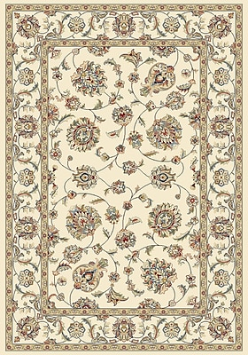 Astoria Grand Attell Ivory/Ivory Area Rug; 7'10'' x 11'2''