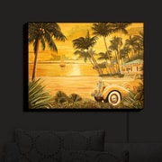 Bayou Breeze 'Tropical Getaway' Print on Wood