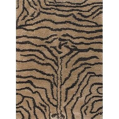 Bloomsbury Market Vanetta Hand Woven Brown / Tan Area Rug; 5' x 7'6''