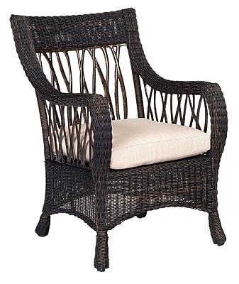 Woodard Serengeti Outdoor Dining Chair Cushion in Vallejo