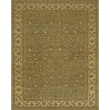 Astoria Grand Freeland Green/Brown Area Rug; 8' x 10'